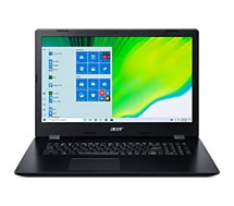 Ordinateur portable Acer  Aspire A317-52-54QM Noir