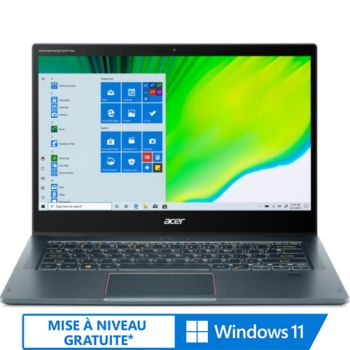 Acer Spin SP714-61NA-S1RW avec Stylet et 5G