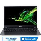 Ordinateur portable Acer Aspire A315-56-33EF Noir