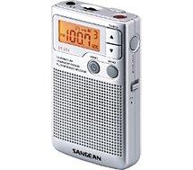 Radio analogique Sangean  POCKET 250 argent