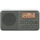 Radio numérique Sangean  DPR-64 Gris - Blanc