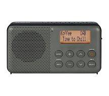 Radio numérique Sangean DPR-64 Gris - Noir