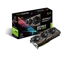 Carte graphique Nvidia Asus GeForce GTX 1060 ROG STRIX-GAMING-6G