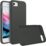 Coque Rhinoshield  iPhone 7/8/SE SolidSuit Microfibre noir