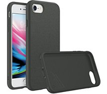 Coque Rhinoshield  iPhone 7/8 SolidSuit Microfibre noir