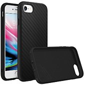 Coque Rhinoshield iPhone 7/8 SolidSuit Carbone noir