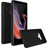 Coque Rhinoshield  Samsung Note 9 SolidSuit Carbone noir