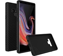 Coque Rhinoshield  Samsung Note 9 SolidSuit Carbone noir
