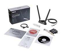 Carte Wifi Asus  PCE AX58BT WIFI 6 double bande