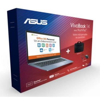 Asus E406MA-BV288TS office 365 +souris+sac