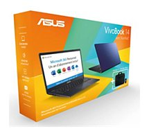 Ordinateur portable Asus  Pack E410MA-EK028TS office365+souris+sac