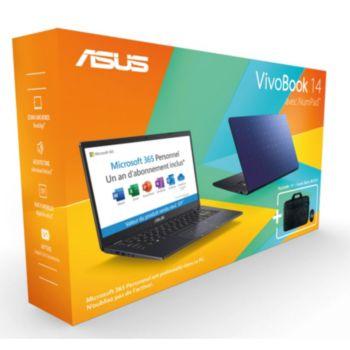 Asus Pack E410MA-EK991TS office365+souris+sac