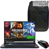 PC Gamer Asus STRIX-G17-G712LV-H7061T+backpack+souris