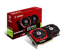 Carte graphique Nvidia MSI  GeForce GTX 1050 TI GAMING X4G
