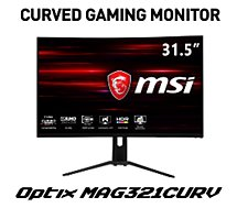 Ecran PC Gamer MSI  Optix MAG321CURV