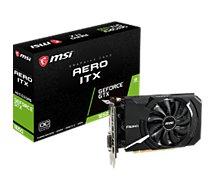 Carte graphique Nvidia MSI GTX 1650 Aero ITX 4G OC
