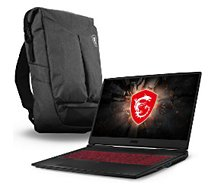 PC Gamer MSI  GL75 9SD-247FR+Sac à dos