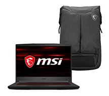 PC Gamer MSI  GF65 Thin 10SDR-1037FR sac à dos