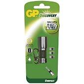 Lampe torche GP Discovery Long Lasting LED + 3xA76