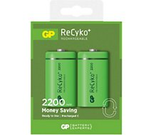 Pile rechargeable GP 2xC  2200 mAh