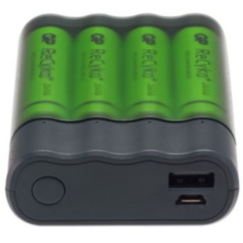 GP Pilles AA / AAA + Appareils en USB