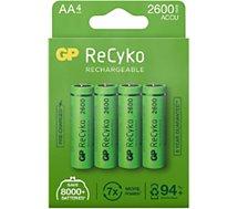 Pile GP  ReCykO+ 4xAA LR6 2600 mAh