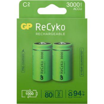 GP ReCykO+ 2x C 3000 mAh