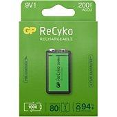 Pile GP Recyko+ 9V 200 mAh