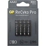 Pile rechargeable GP  4xAAA LR3 800 mAh