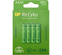 Pile GP  ReCykO+ 4xAAA LR3 950 mAh