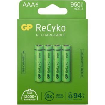 GP ReCykO+ 4xAAA LR3 950 mAh