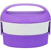 Lunch box G.Lunch Bento 1.3L Violet