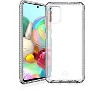 Coque Itskins  Samsung A71 Spectrum transparent