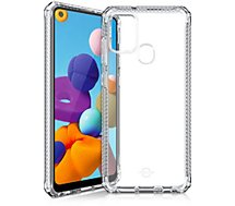Coque Itskins  Samsung A21s Spectrum transparent