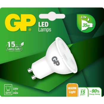 GP LED TWIST GU10 3.7-35W