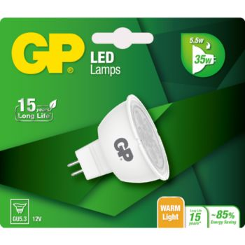 GP LED MR16 GU5.3 5-35W
