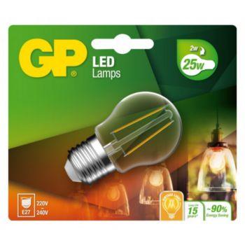 GP LED FILAMENT MGLOBE E27 2W-25W 078111-LD