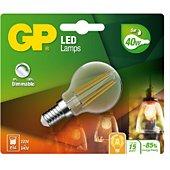 Ampoule GP LED FILAMENT MGLOBE DIM E14 5W-40W