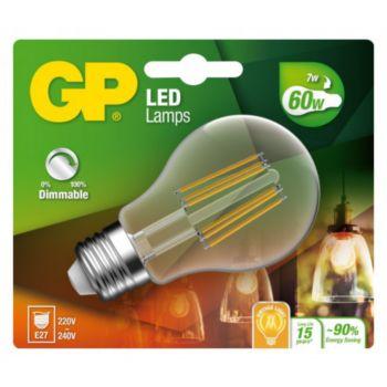 GP LED FILAMENT CLASSIC DIM E27 7W-60W 0782