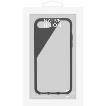 Native Union COQUE CLIC CRYSTAL IPHONE 7 NOIRE FUMEE
