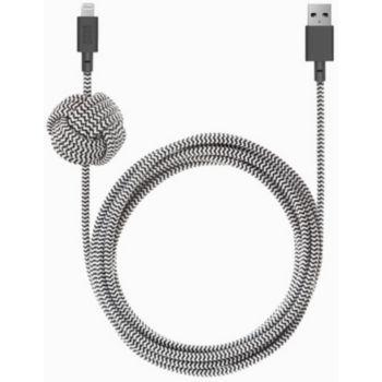 Native Union Night Zebra 3M Kevlar USB A/USB C