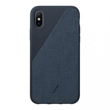 Native Union iPhone Xr ClicCanvas bleu