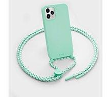 Coque collier Laut  iPhone 12 mini Pastels vert