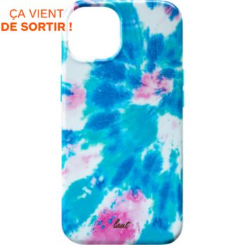 Laut iPhone 13 Tie Dye bleu