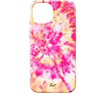 Coque Laut  iPhone 13 Tie Dye rose