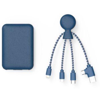 Xoopar Powerpack bio Bleu + cable