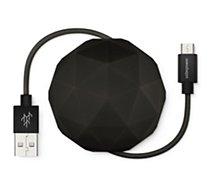 Câble micro USB Usbepower  1M Cosmo Balle - Noir