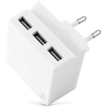Usbepower 3 USB + Multiprise Mini