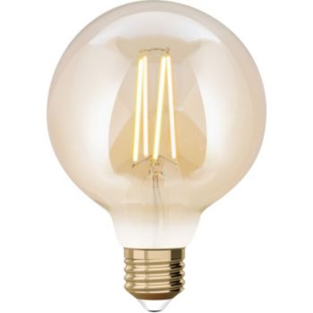 WIZ E27 Filament G95 Ambrée 650 Lumen