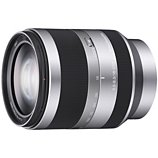 Objectif pour Hybride Sony  SEL E 18-200mm f3.5-6.3 Silver